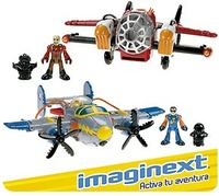 SUPERAVIONES HEROES AIRE IMAGINEXT