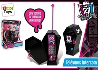 TELEFONO INTERCOM. MONSTER HIGH