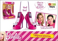 TELEFONO INTERCOMUNICABLE BARBIE
