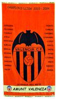 TOALLA CAMPEON DE LIGA VALENCIA C.F. - COLECCIONISTA