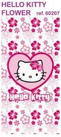 TOALLA DE PLAYA HELLO KITTY FLOWER 60207