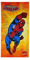 #TOALLA DE PLAYA SPIDERMAN COMIC