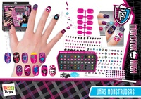 UÑAS MONSTRUOSAS MONSTERS HIGH